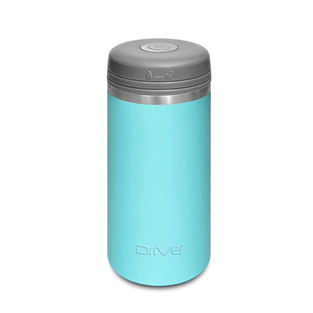 Driver|90Do保冷保熱陶瓷保冰杯 250ml (嫩藍)