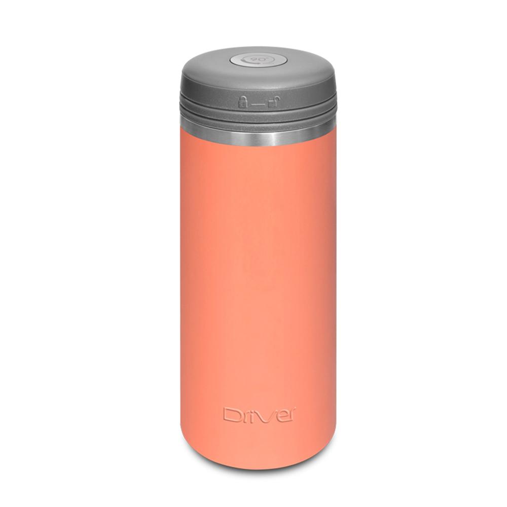 Driver|90Do保冷保熱陶瓷保冰杯 350ml (嫩橘)