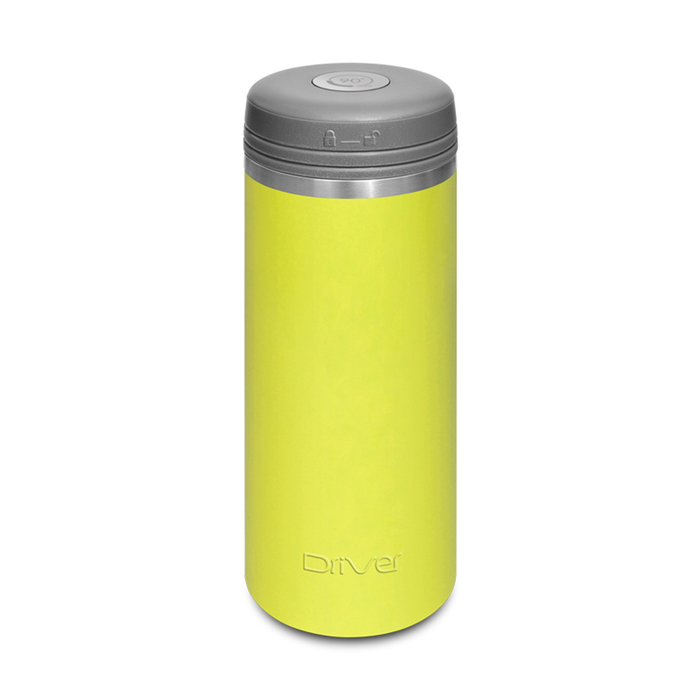 Driver|90Do保冷保熱陶瓷保冰杯 350ml (嫩綠)