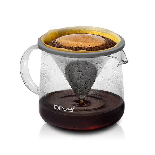Driver|Moka 咖啡濾杯壺組400ml