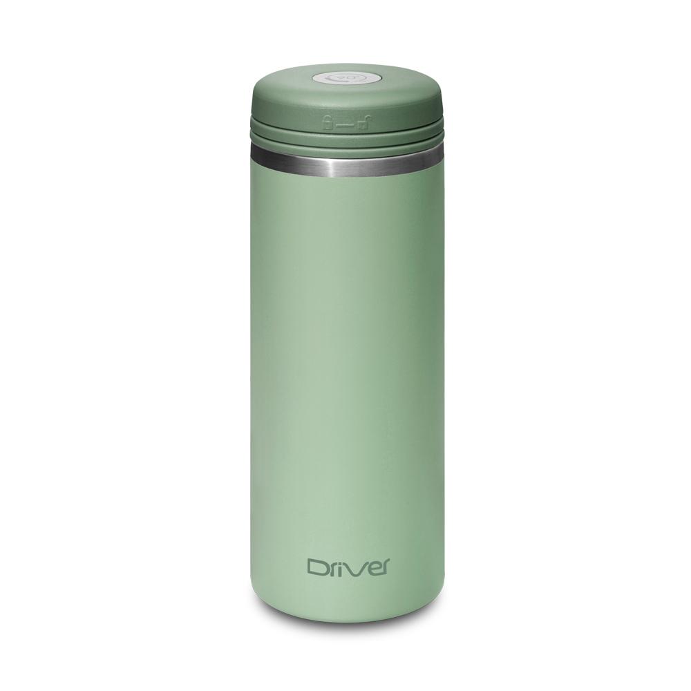 Driver|90Do 316保冷保熱真空保溫杯350ml (莫蘭迪綠)