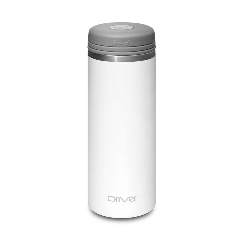 Driver|90Do 316保冷保熱真空保溫杯350ml (純萃白)