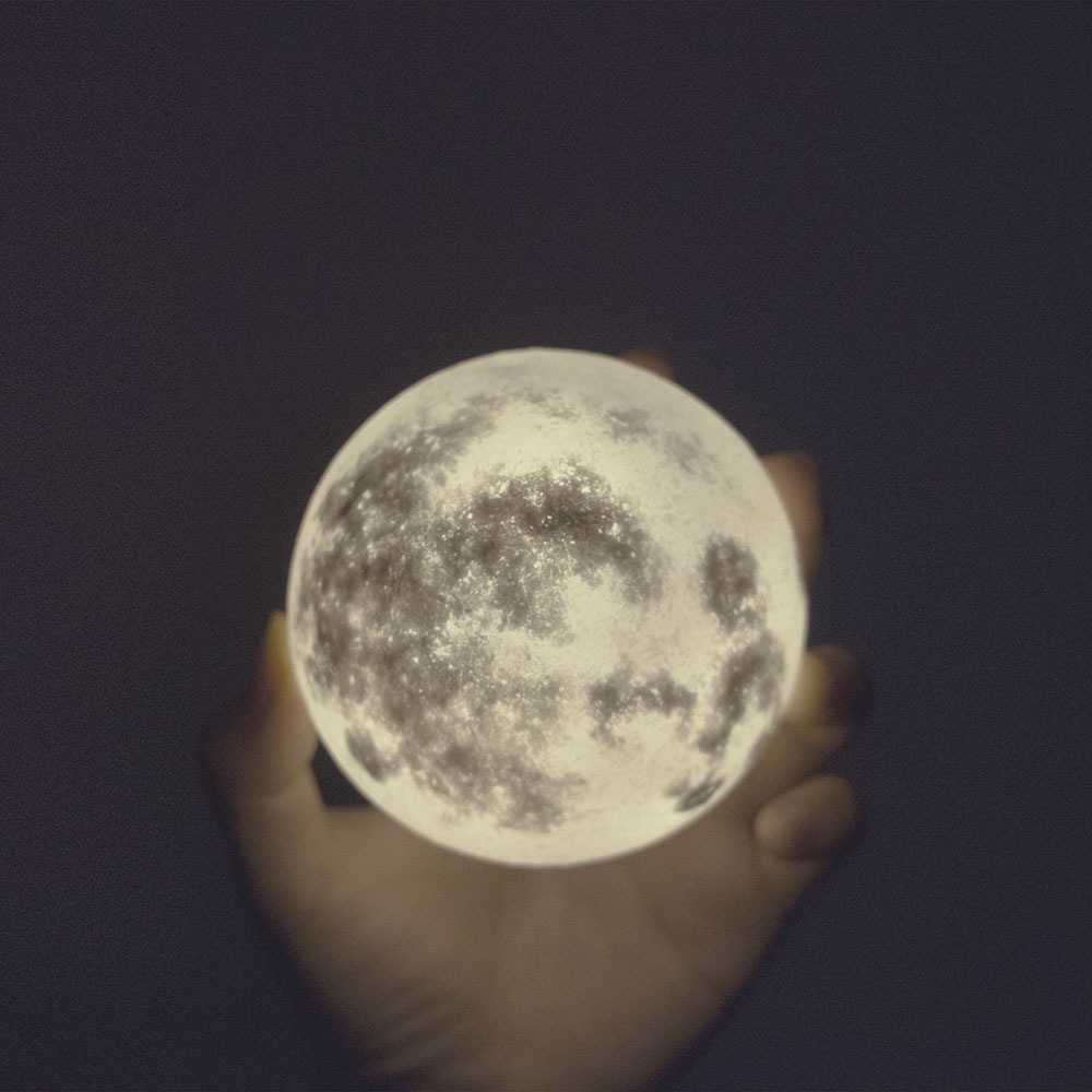 橡果藝術 LUNA Mini 月球燈 (8cm)