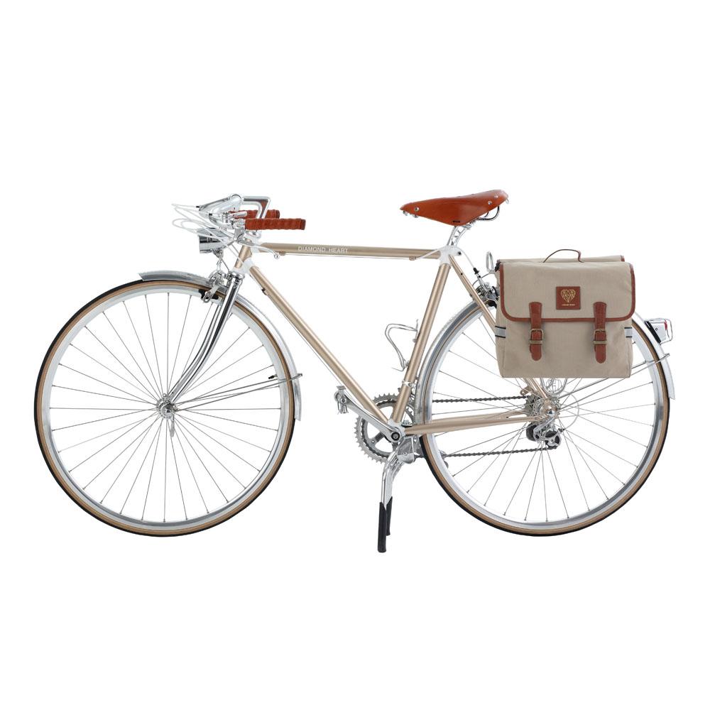Diamond Heart|經典自行車雙邊馬鞍包