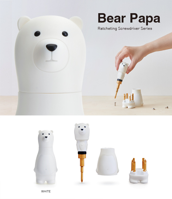 (複製)iThinking|Bear Papa 棘輪起子組(咖啡)