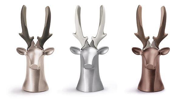 iThinking|Deer Dear II 桌飾座鹿-玫瑰金