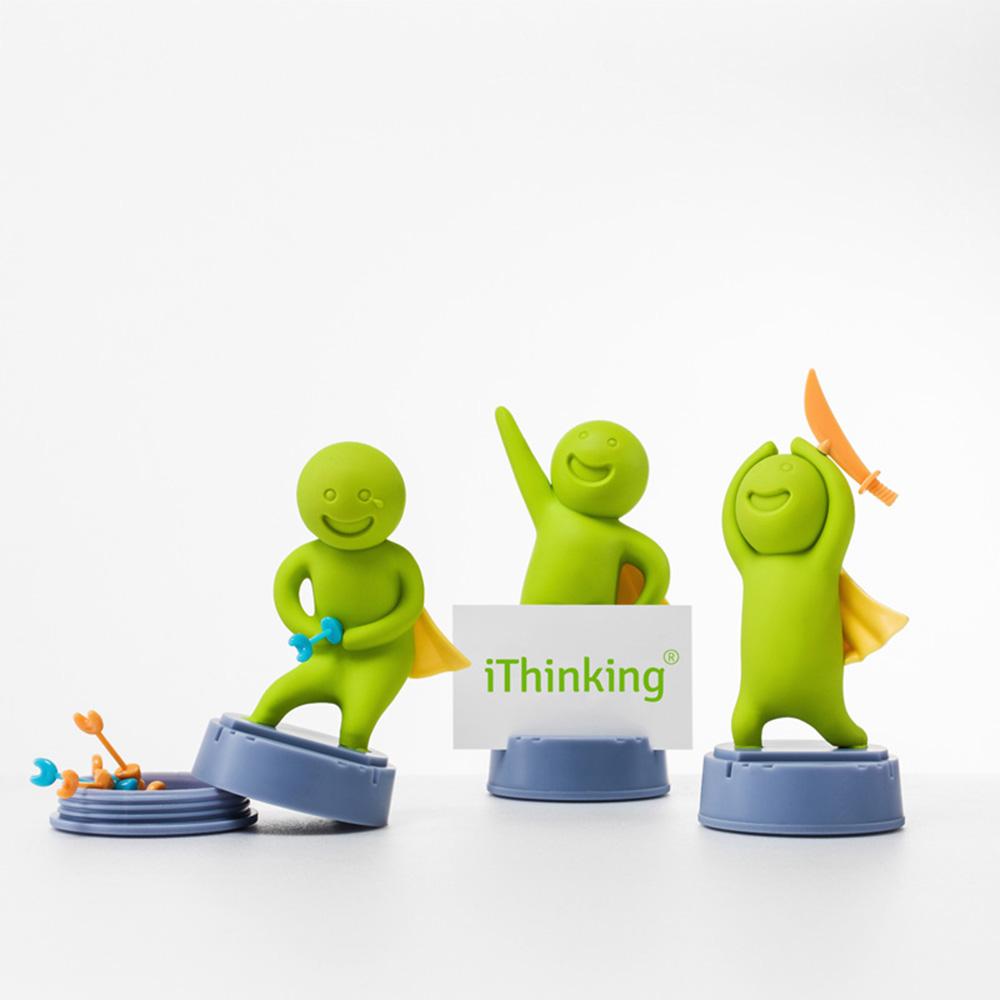 iThinking|【勇氣小子】自我激勵-磁吸(含造型磁鐵x5)名片座系列