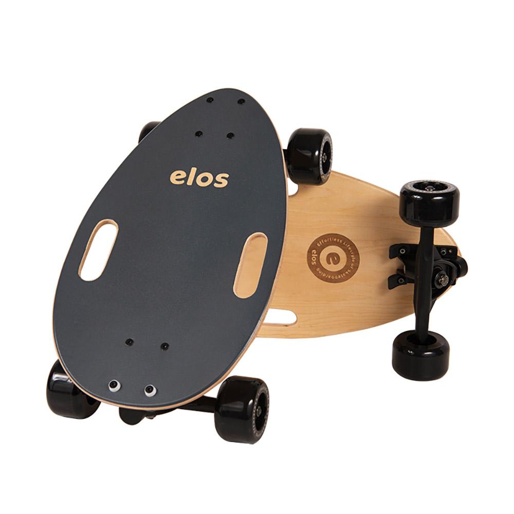 Elos Skateboards 經典都會滑板 (時尚灰)