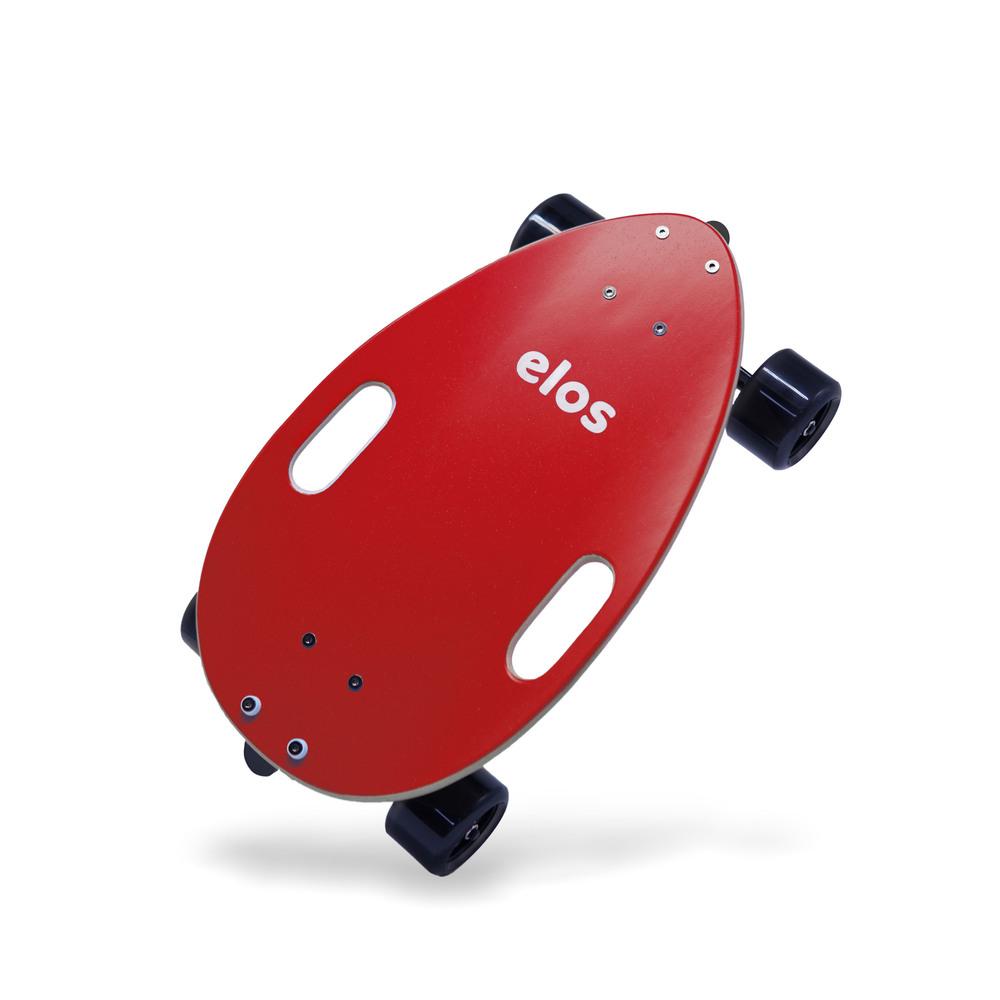 Elos Skateboards|都會滑板通勤款(魔力紅)