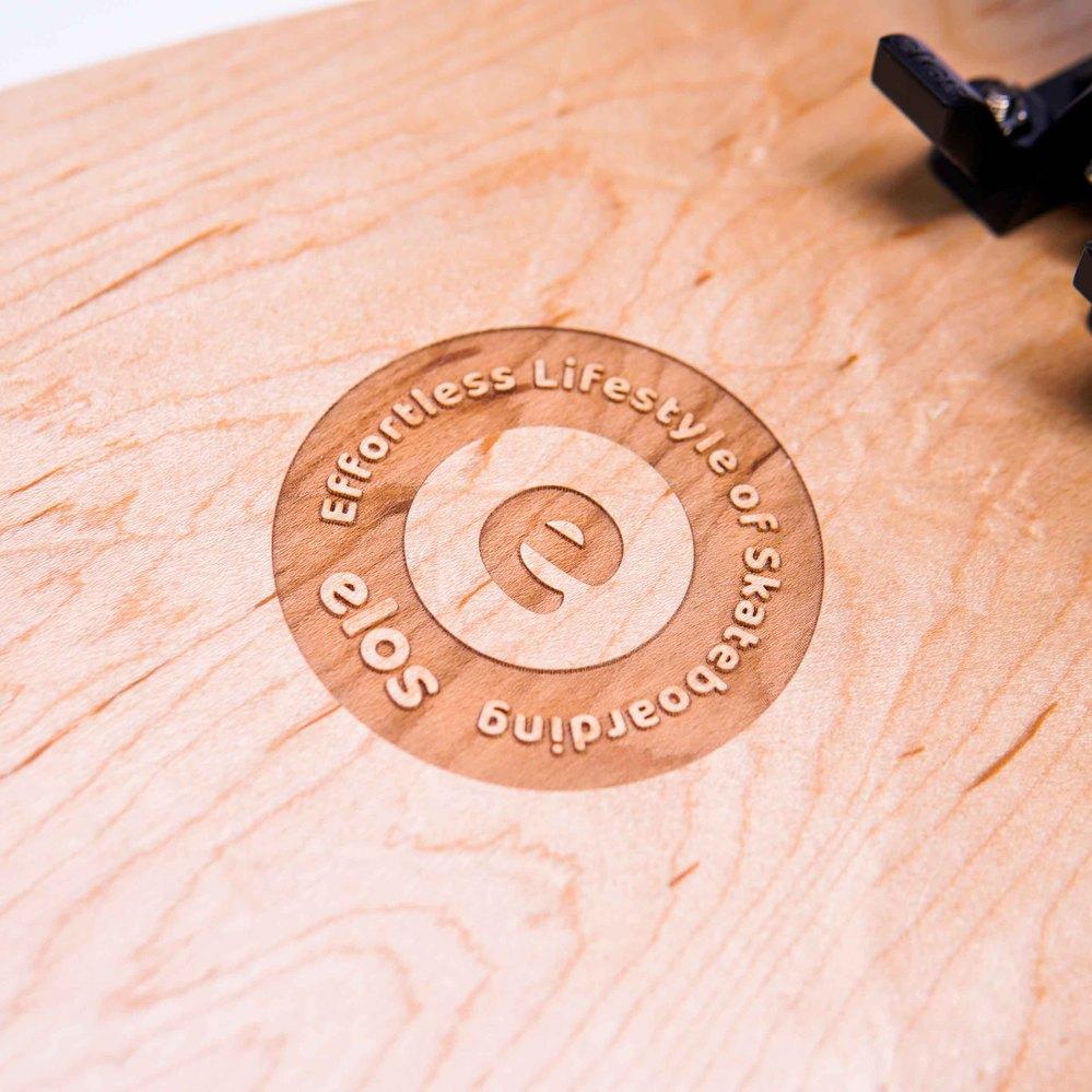 Elos Skateboards|都會滑板通勤款(珊瑚紅)