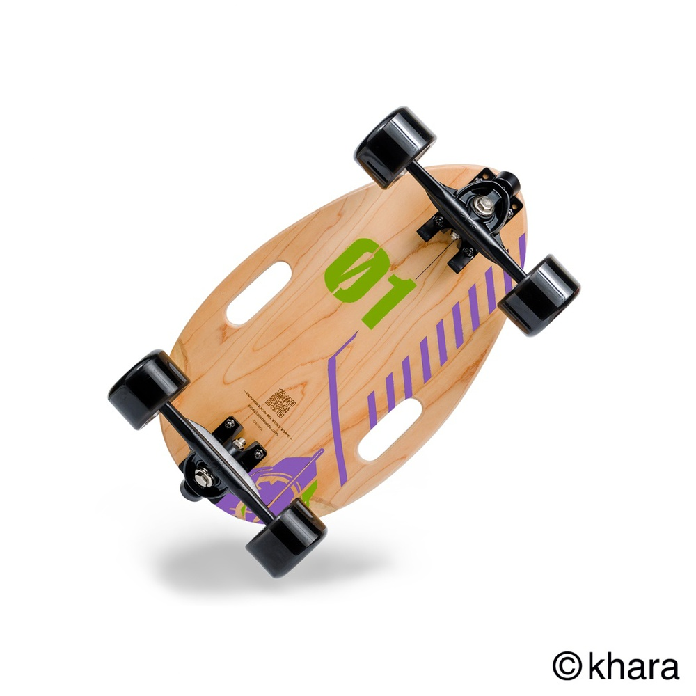 Elos Skateboards|都會滑板通勤款 - 初號機(EVA Sports聯名合作)