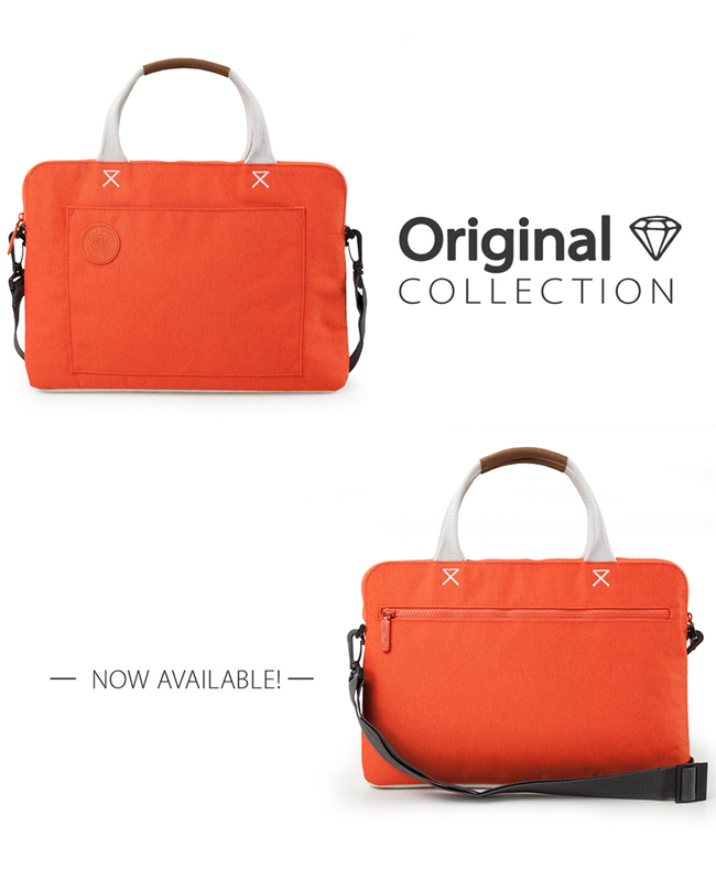 GOLLA | 北歐芬蘭時尚極簡輕便包 G1704-橘
