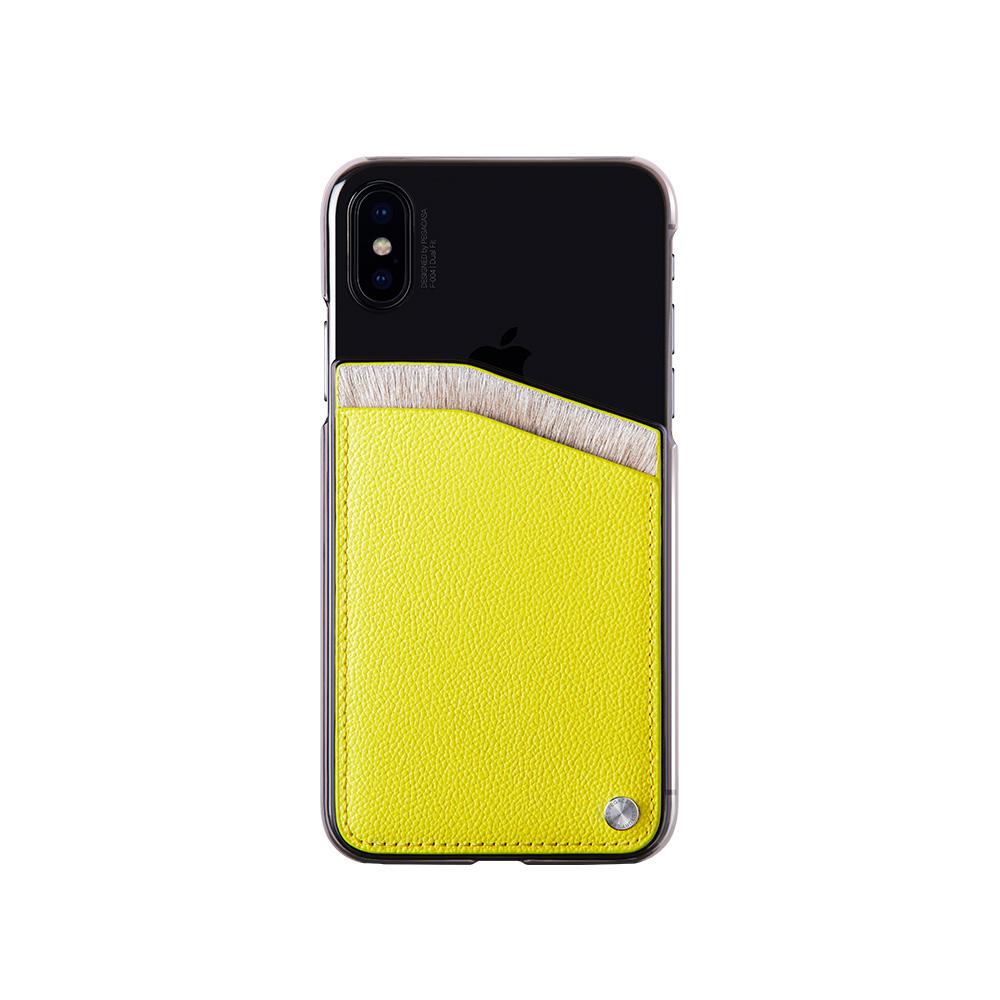 PEGACASA | iPhone X / XS 手機殼-乳牛毛系列