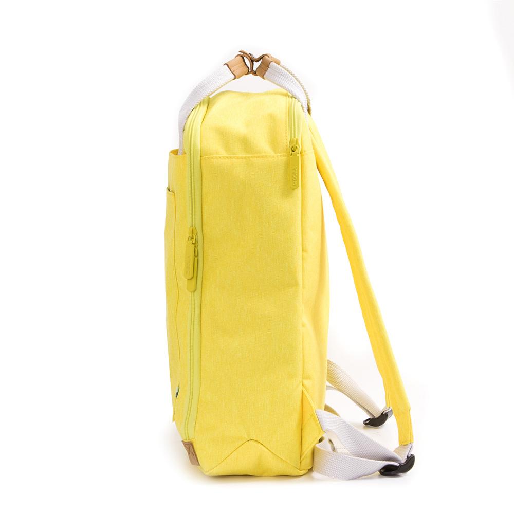 GOLLA | 北歐芬蘭時尚極簡後背包15.6吋 G1765-日光黃