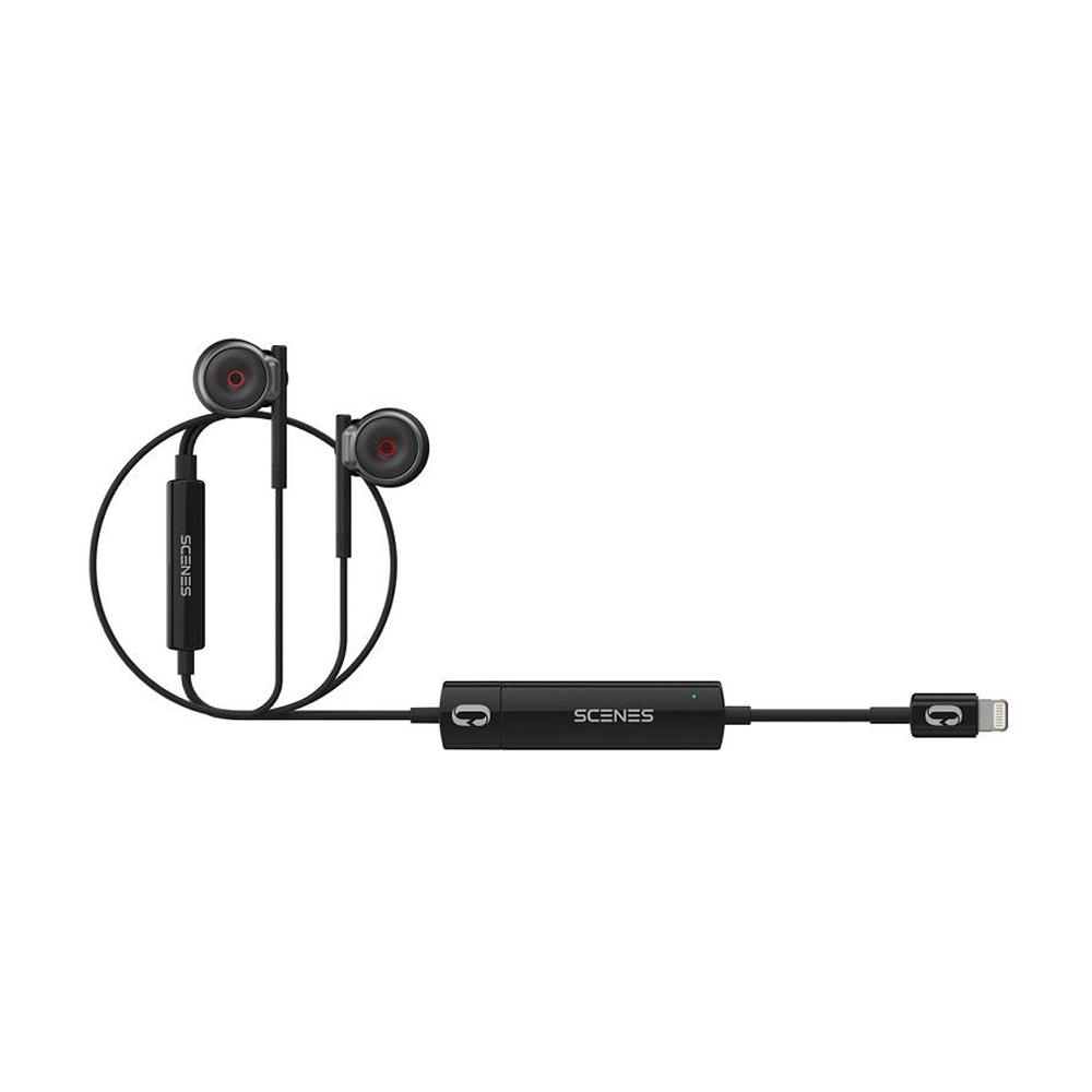 Scenes森聲 | 3D全景聲錄音耳機iPhone套組