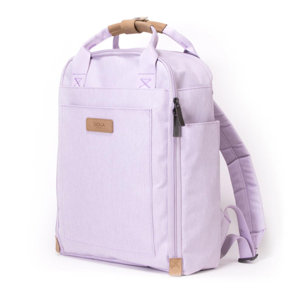 GOLLA | 北歐芬蘭時尚極簡後背包 13吋 G2199 薰衣紫