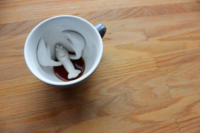 (複製)Creature Cups|烏龜造型咖啡杯(灰藍色/13oz)
