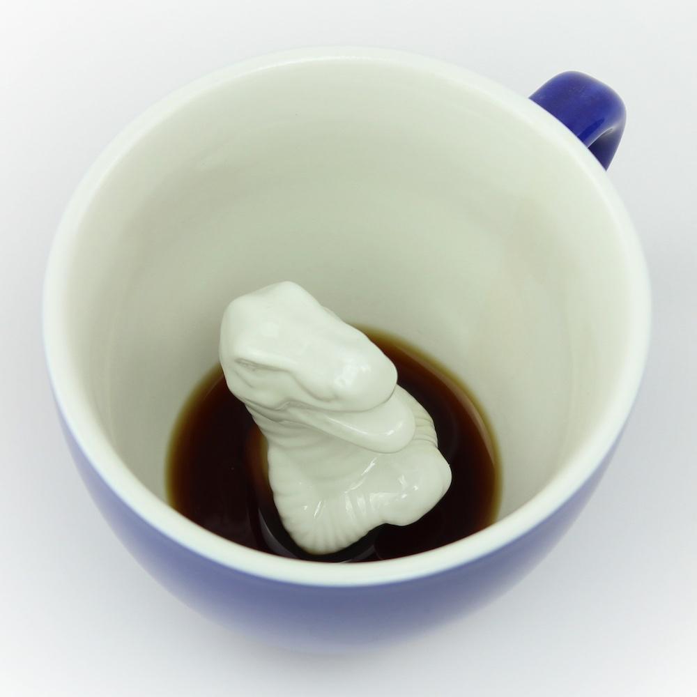 Creature Cups|暴龍造型咖啡杯(寶藍色/11oz)