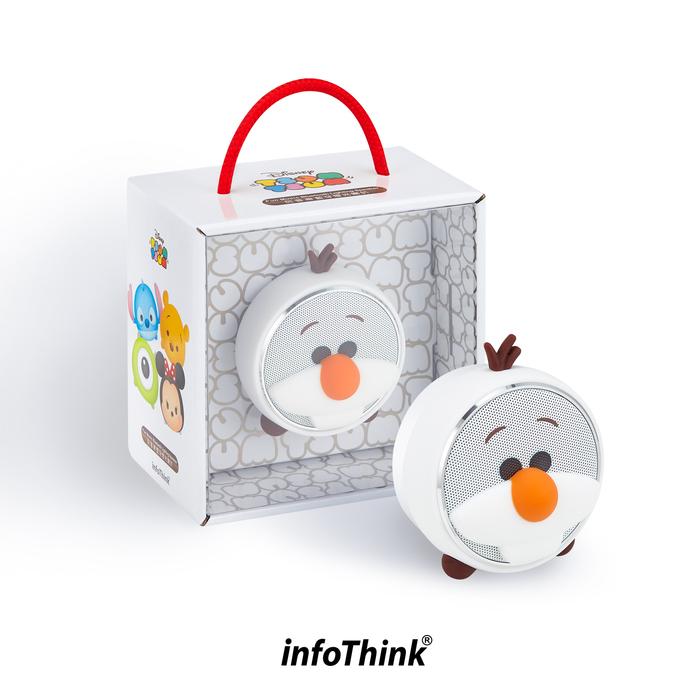 InfoThink|TSUM TSUM玩音樂藍牙燈光喇叭-雪寶Olaf