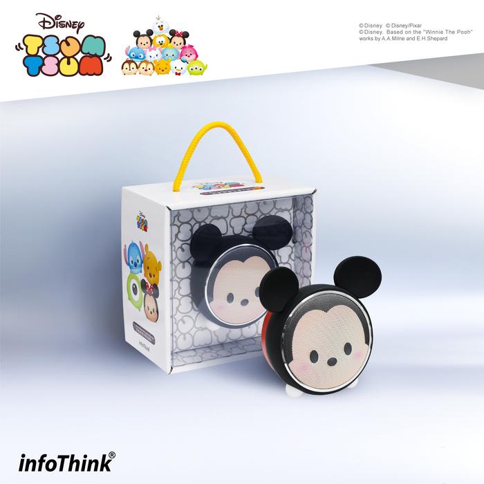 InfoThink|TSUM TSUM玩音樂藍牙燈光喇叭-米奇Mickey