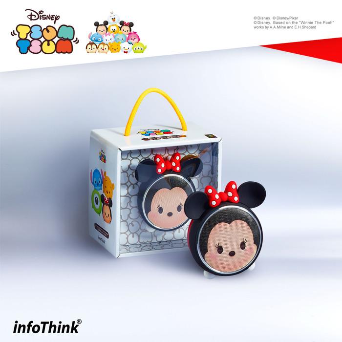 (複製)InfoThink|TSUM TSUM玩音樂藍牙燈光喇叭-米奇Mickey