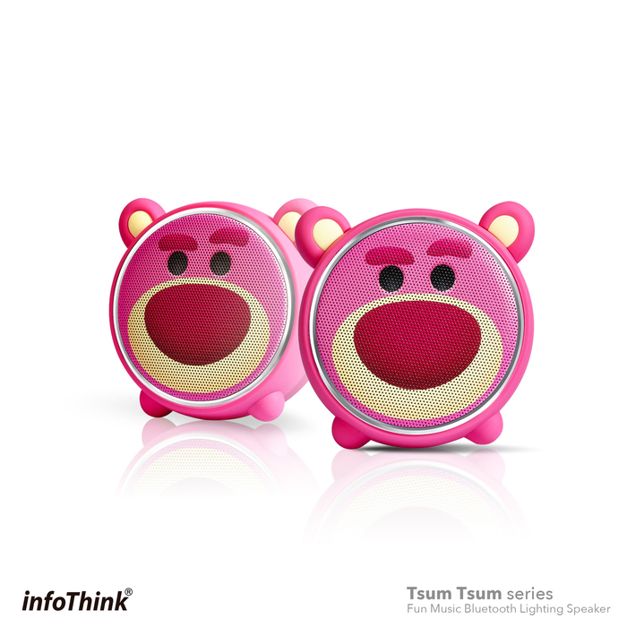 InfoThink|TSUM TSUM玩音樂藍牙燈光喇叭- 熊抱哥Lotso
