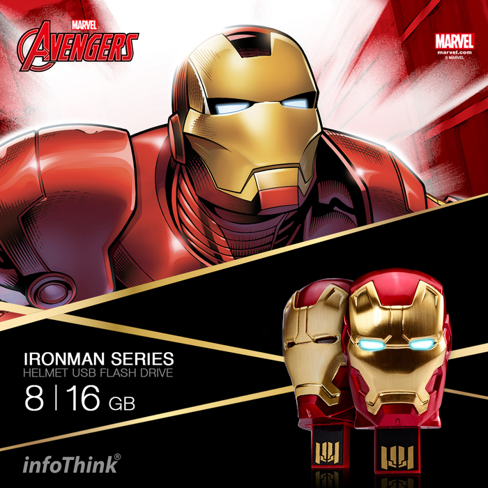 InfoThink|鋼鐵人馬克42隨身碟 8G