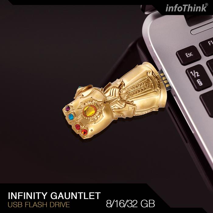 InfoThink|復仇者聯盟無限手套隨身碟-8GB