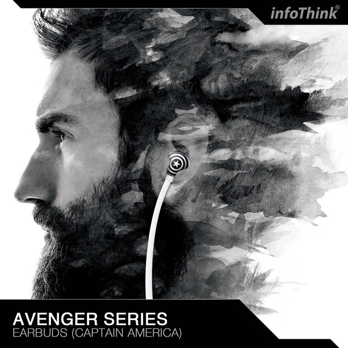 InfoThink|復仇者聯盟美國隊長重低音耳機