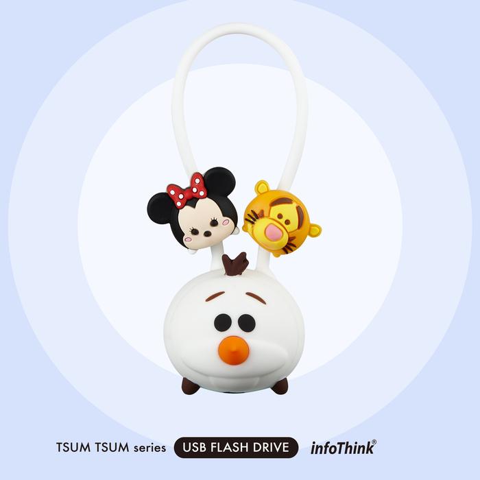 InfoThink|TSUM TSUM系列公仔吊飾隨身碟-16GB