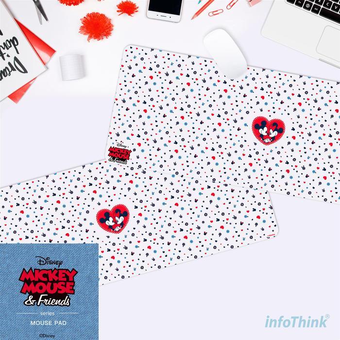 (複製)InfoThink|小熊維尼系列悠閒滑鼠墊/桌墊-森林趣