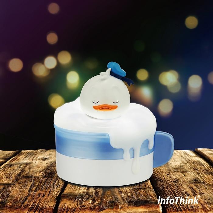 (複製)InfoThink|泡泡歐蕾小夜燈收納盒-小飛象