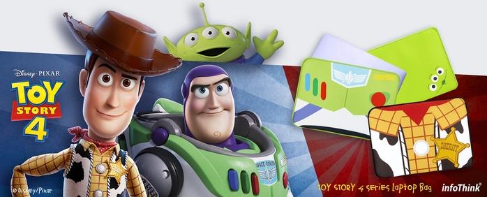 InfoThink|迪士尼玩具總動員系列筆電包-胡迪