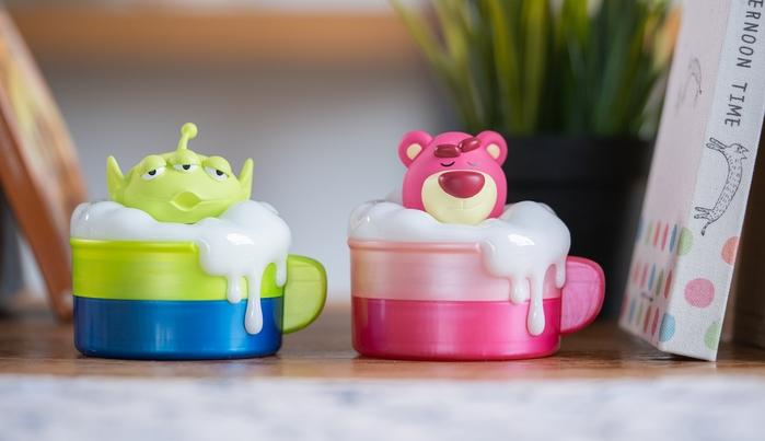 InfoThink|迪士尼玩具總動員系列泡泡歐蕾小夜燈收納盒-三眼仔
