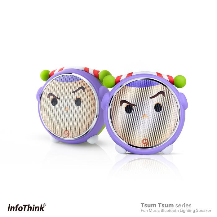 (複製)InfoThink|TSUM TSUM玩音樂藍牙燈光喇叭- 三眼怪