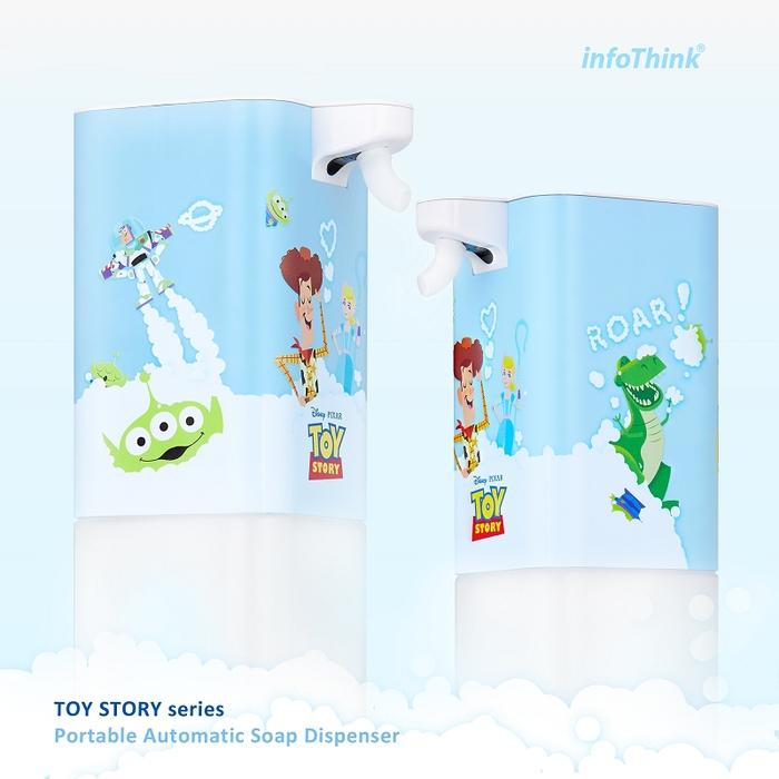 InfoThink|迪士尼玩具總動員智慧感應泡泡洗手機/給皂機