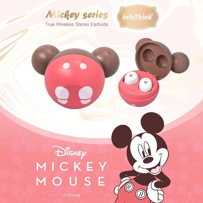 InfoThink|迪士尼米奇系列真無線藍牙耳機