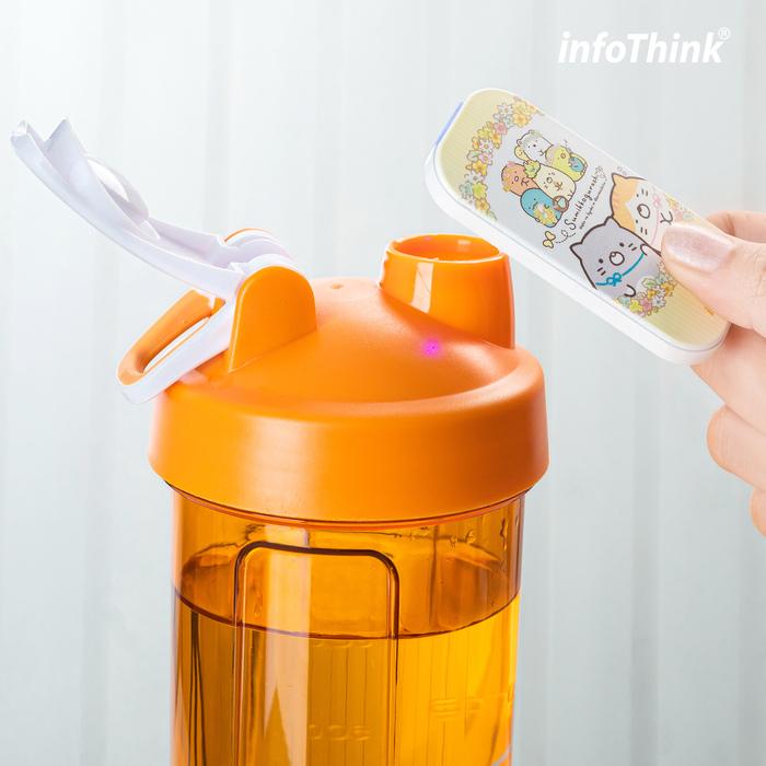 (複製)InfoThink|高效UVC超薄隨身殺菌機(時尚白)