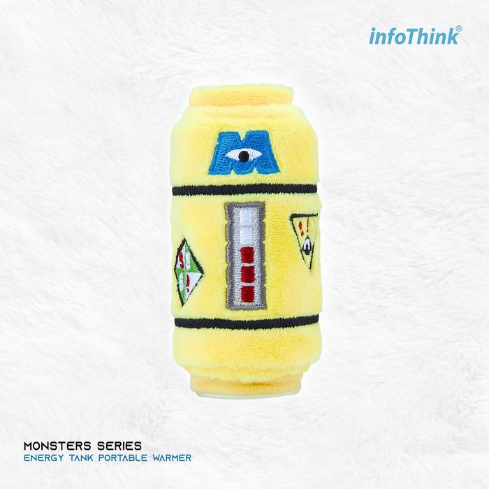 InfoThink|迪士尼怪獸大學系列電力能量瓶暖手寶