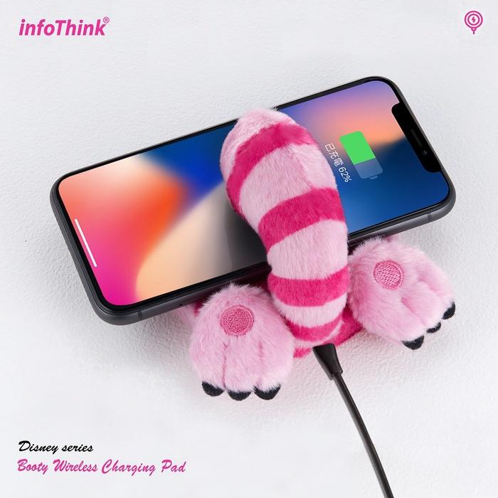 (複製)InfoThink|迪士尼怪獸大學系列毛怪電臀無線充電座