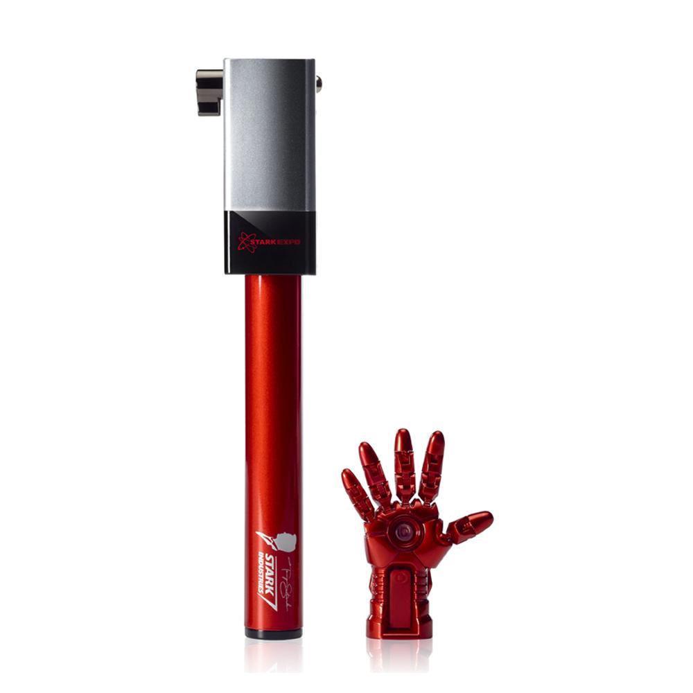 InfoThink|鋼鐵人手盔甲遙控自拍器X自拍桿組