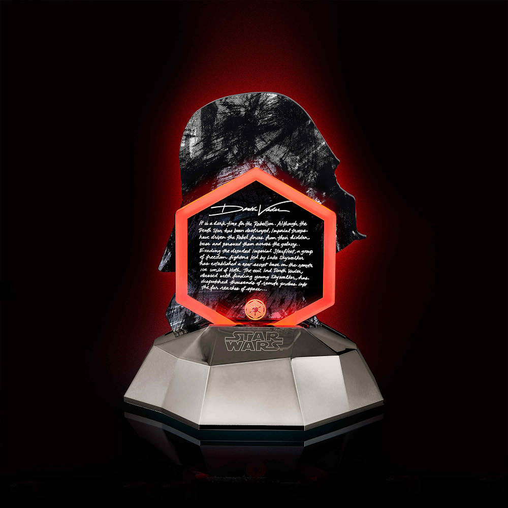 InfoThink 限量收藏版-星際大戰黑武士3D立體光燈(可同步充手機)