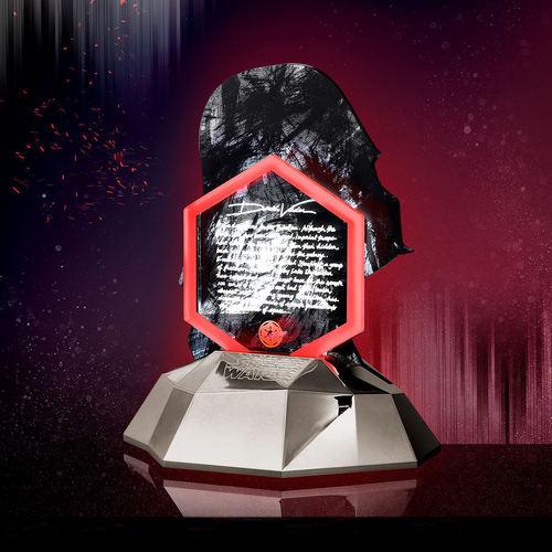 InfoThink|限量收藏版-星際大戰黑武士3D立體光燈(可同步充手機)