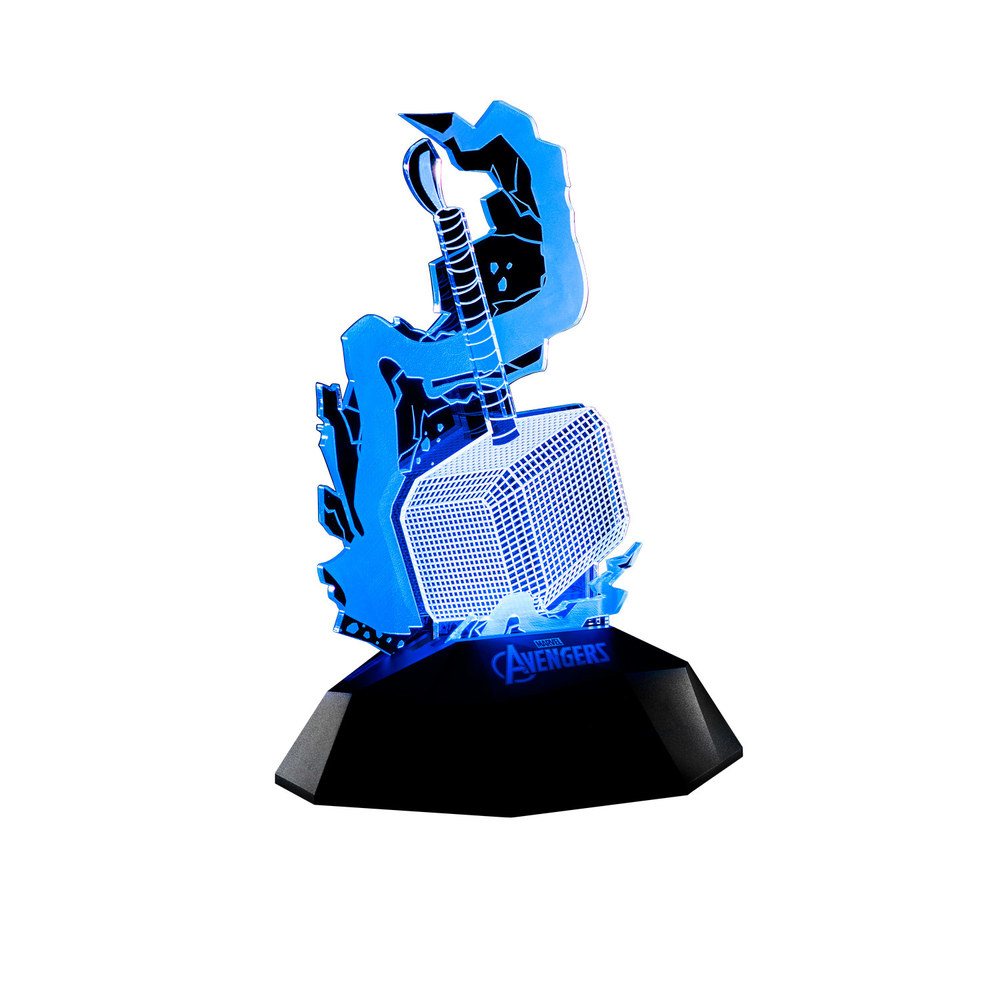 InfoThink|雷神鎚3D立體光燈(可同步充手機)