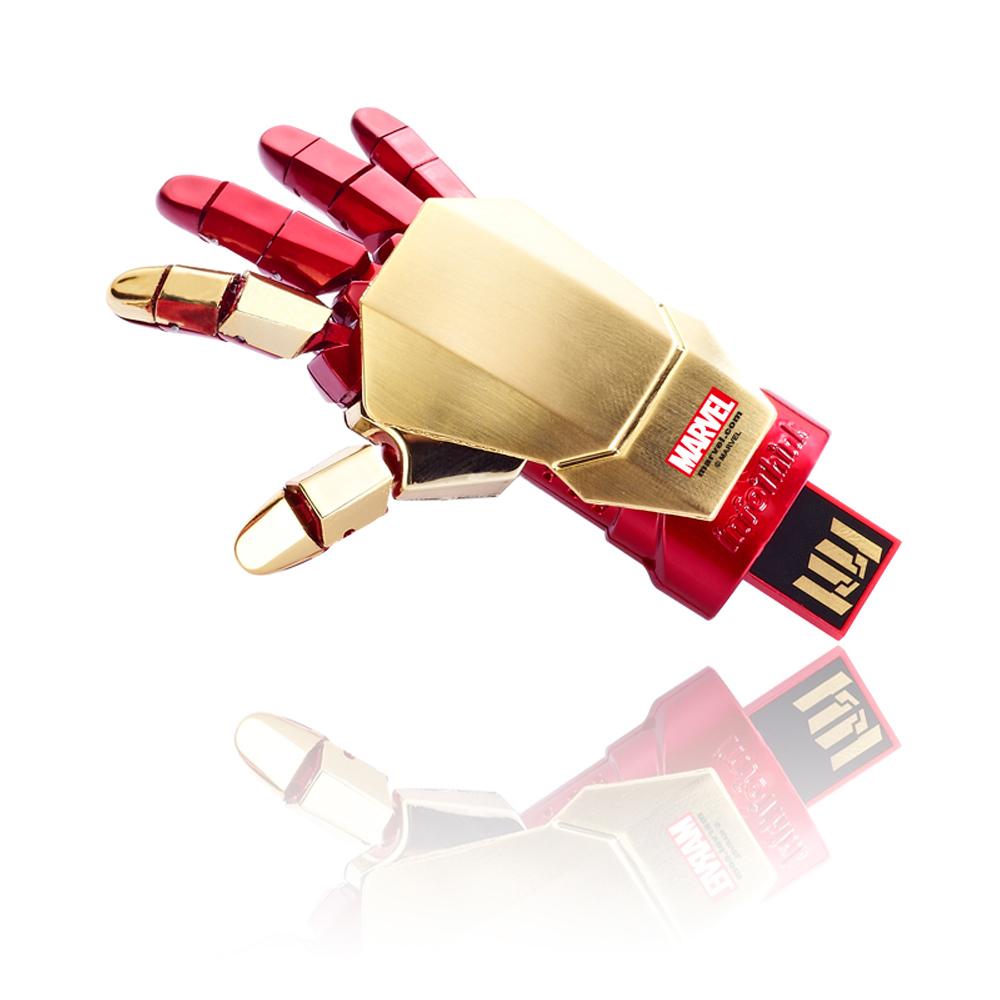 InfoThink|MARVEL鋼鐵人右手盔甲隨身碟-16GB