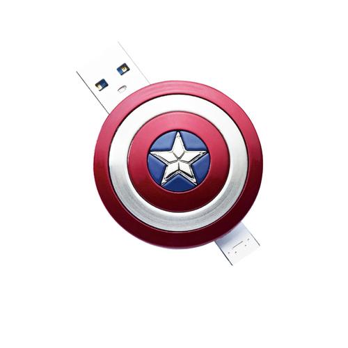 InfoThink|漫威美國隊長盾牌OTG隨身碟-16GB(Android適用)