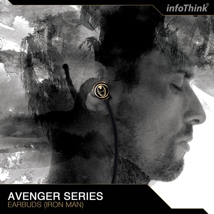 InfoThink|復仇者聯盟鋼鐵人重低音耳機