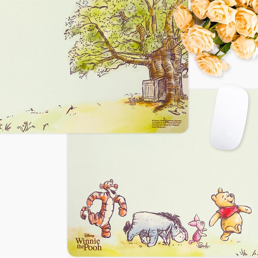 InfoThink|小熊維尼系列悠閒滑鼠墊/桌墊-森林趣
