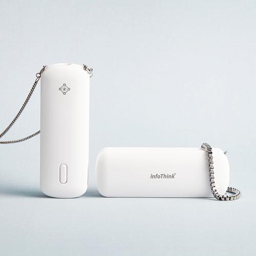InfoThink 隨身淨系列|隨身項鍊負離子空氣清淨機(可除PM0.1/歐盟CE認證 )
