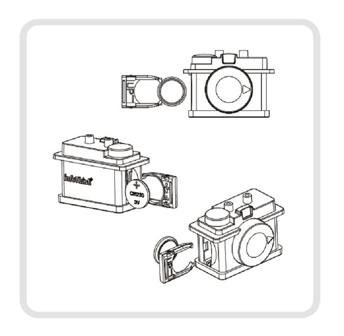InfoThink|迪士尼TSUM TSUM藍牙遙控自拍器-大眼仔